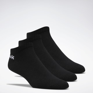 Active Core Low-Cut Socks 3 Pairs Black FL5223