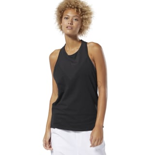 Training Supply Racer Tank Top Black DU4076