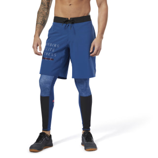 Reebok CrossFit EPIC Shorts Bunker Blue D94886