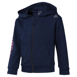 Girls Training Essentials Fullzip Hoody Collegiate Navy DM5554
