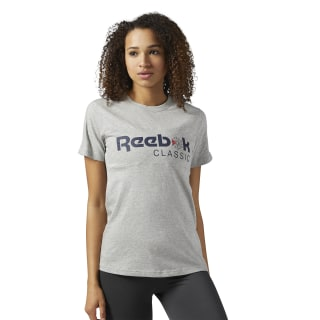 Reebok Classics Graphic Tee Medium Grey Heather BS3728
