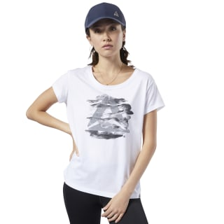Graphic Series Camo Easy Tee White EC2060