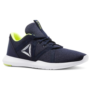Zapatillas REEBOK REAGO ESSENTIAL COL NAVY/BLK/WHT/SOLAR YELLOW/CLOUD GRY CN5131