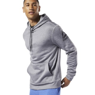 Худи Workout Ready Thermowarm Grey/medium grey heather EJ8759