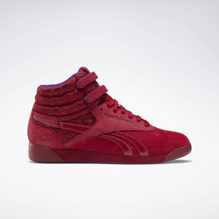 Freestyle Hi x Museum Mammy Shoes Cranberry Red / Cranberry Red / Ultra Violet FV1014