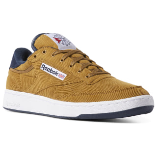 Club C 85 Corduroy Shoes Sepia/Navy/Paperwhite/Red DV7236