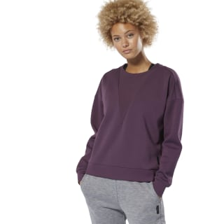 Sweat à col rond Training Supply Urban Violet DU4040