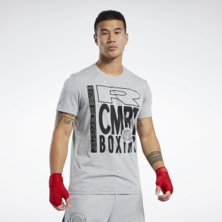 Спортивная футболка Combat Boxing Grey/medium grey heather FK2328