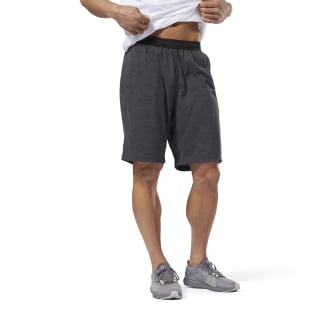 Training Essentials Jersey Short Dark Grey Heather CY4868