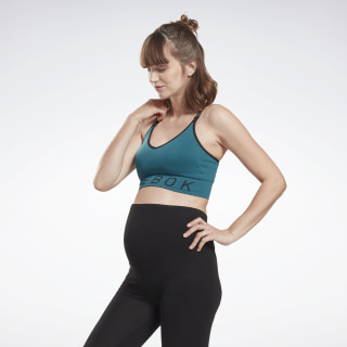 Studio Medium-Impact Maternity Bra Heritage Teal FI6813