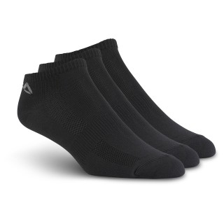 Reebok ONE Series Socks – 3-pack Black/Black/Black/Tin Grey BP6231