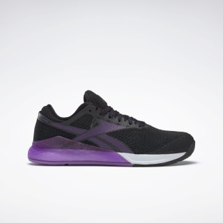 Reebok Nano 9 Women's Training Shoes Black / Grape Punch / White DV6366