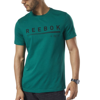 Camiseta Graphic Series Reebok Icons Clover Green DY7843