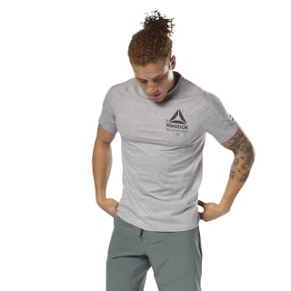 Speedwick Graphic MOVE Tee Medium Grey Heather D93764