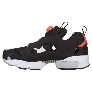 InstaPump Fury Original Shoes Black / White / Fiery Orange EH1785