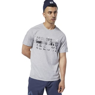 One Series Training Speedwick Tee Medium Grey Heather EC1019