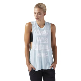 Training Supply Muscle Tank Turquoise CF8616