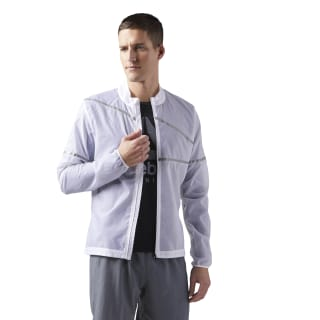 Veste Running Hero White CD5439