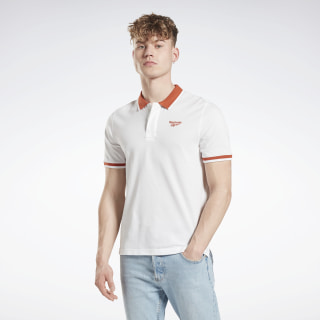 Classics Polo Shirt White / Mars Dust GF4989