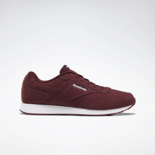Reebok Royal Glide LX Shoes Lux Maroon / Maroon / White DV6839