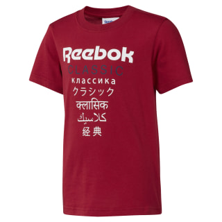 Unisex Classics Graphic T-Shirt Cranberry Red DH3244
