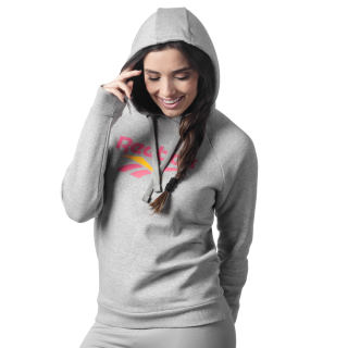 Classic vector hoodie Medium Grey Heather DY0169