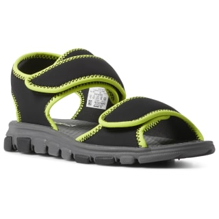 Wave Glider III Sandals Black / Alloy / Neon Lime CN8609