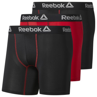 Reebok Performance Boxer Brief - 3 Pack Black CJ9443