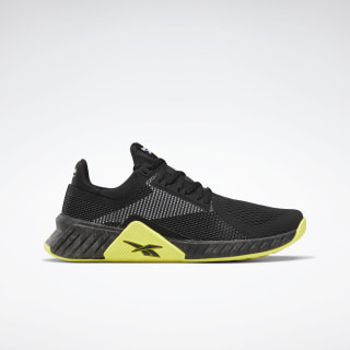 Flashfilm Trainer Men's Training Shoes Black / White / Hero Yellow FU6651