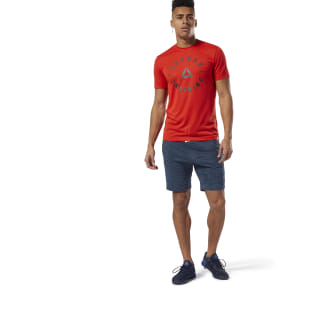 Short marbré Group Training Essentials Blue Hills DU3785