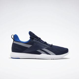 Reebok Reago Pulse 2.0 Shoes Collegiate Navy / Humble Blue / Cold Grey 4 EF6335