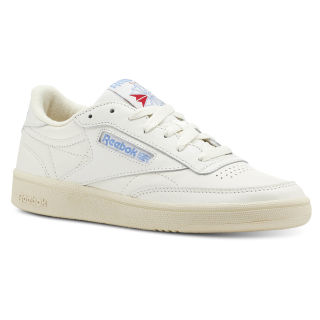 Club C 85 Vintage-Chalk / Paper Wht / Athletic Blue / Exc Red CN5464