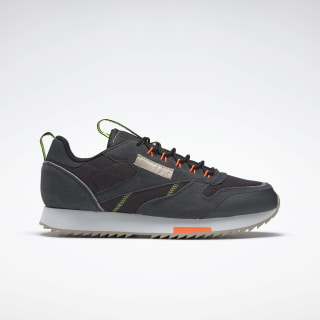 Classic Leather Ripple Trail Shoes True Grey 8 / Solar Orange / Neon Lime EG6473