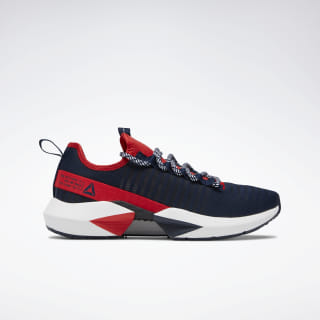 Sole Fury Men's Shoes Collegiate Navy / Primal Red / White EG0035