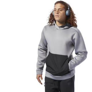 Sweat à capuche Training Supply Tech Mgh Solid Grey DP0319