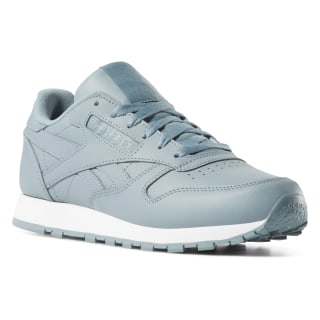 Classic Leather Teal Fog/White CN7606