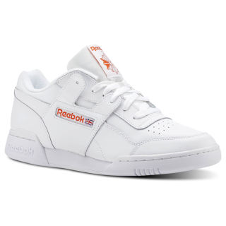 Workout Plus MU Fcu-White / Bright Lava CN5203