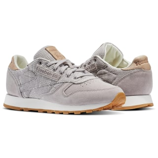 Tenis Classic Leather EBK WHISPER GREY/CHALK/LILAC ASH/VEGTAN-GUM BS7952