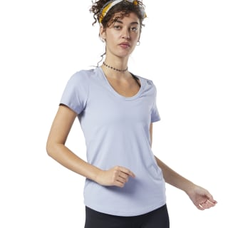 Workout Ready Speedwick Tee Denim Dust EC7082