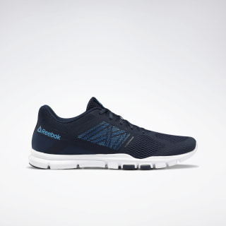 Кроссовки Yourflex Trainette 11 collegiate navy/white/bright cyan EG6444