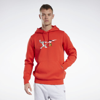 Tom and Jerry Hoodie Motor Red GK9163