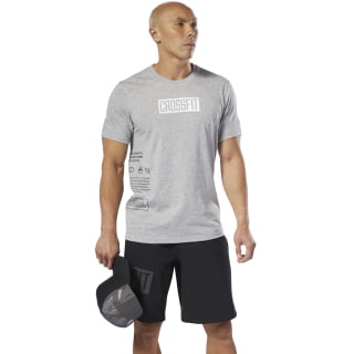 Reebok CrossFit® Move Tee Medium Grey Heather DU5115
