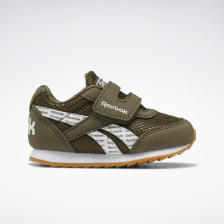 Reebok Royal Classic Jogger 2 Shoes - Toddler Army Green / White / Gum EF3740