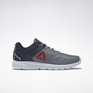 Reebok Rush Runner Shoes Grey / Navy / Red / White DV8686
