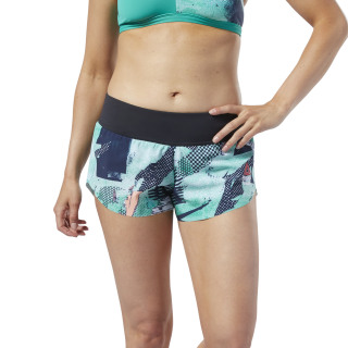 Reebok CrossFit® Knit Waistband Shorts Emerald DY8375