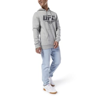 Sweat à capuche UFC Fan Gear Medium Grey Heather DU4577
