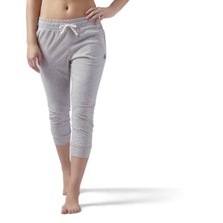 Elements Jersey Capri Medium Grey Heather CD5900