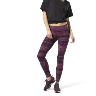 Lux Legging - Stratified Stripes Twisted Berry DN7455