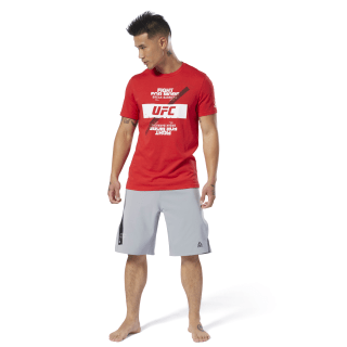 T-shirt UFC Fan Gear Fight For Yours Primal Red DU4581