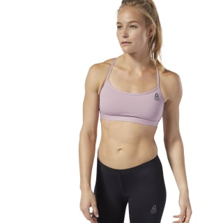 Reebok CrossFit Front Rack Sports Bra Infused Lilac D94954